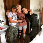 FOTO: Sorana Cîrstea a fost în vizită la Bethanie Mattek Sands. Iată cum arată piciorul americancei