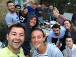 FOTO: Grătarul românilor, la Wimbledon. Ana Bogdan, Sorana Cîrstea, Horia Tecău şi Florin Mergea, printre participanţi