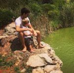 FOTO: Novak Djokovic, alături de fiul său, în natură