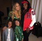 FOTO: Serena Williams, alături de Mariah Carrey și gemenii ei