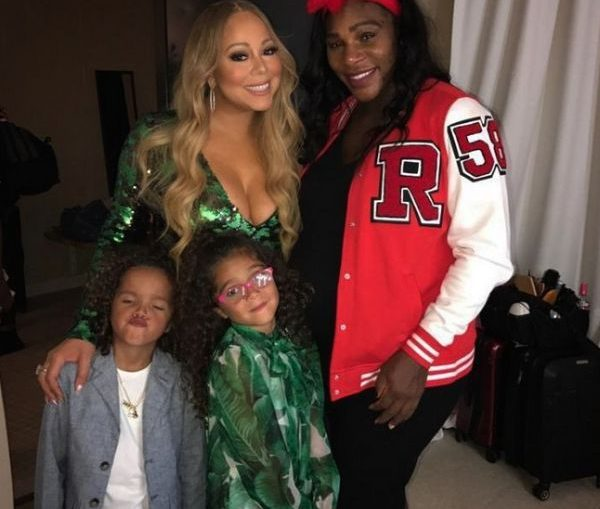 serena williams mariah carey concert gemeni