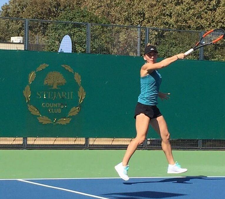 stejarii simona halep tenis antrenament