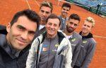 FOTO Cupa Davis: Echipa României a făcut primul antrenament la Viena. Ce au declarat românii