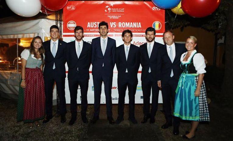 Cupa Davis echipa austria dineu