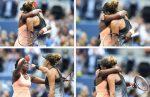 FOTOGALERIE: Momente memorabile petrecute între Sloane Stephens și Madison Keys, după finala de la US Open