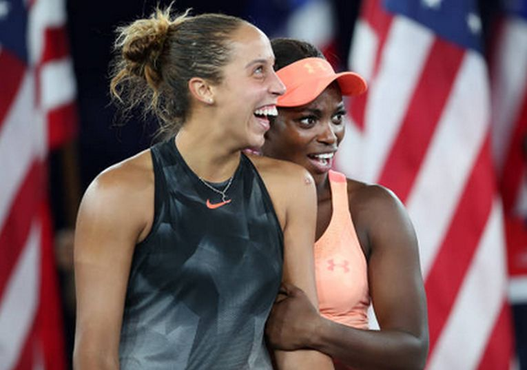 Madison Keys si Sloane Stephens