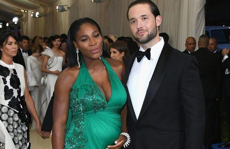 serena williams gravida ohanian