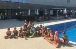 FOTO: Simona Halep şi-a încărcat bateriile alături de micii înotători de la Stejarii