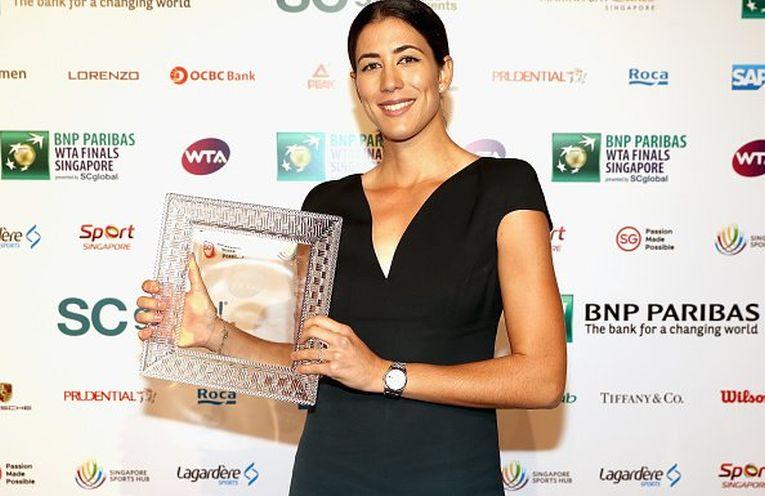 garbine muguruza jucatoarea anului 2017 tenis