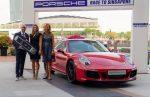 Turneul Campioanelor 2017: Simona Halep a primit mașina Porsche de 110.000 de euro