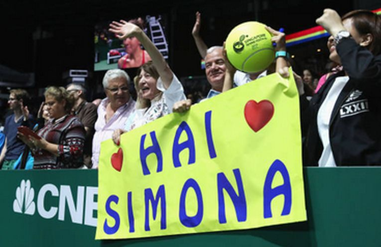 simona halep fani singapore turneul campioanelor
