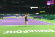 simona halep singapore tenis