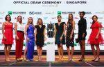 Turneul Campioanelor 2017: Simona Halep și celelalte jucătoare la tragerea la sorți sau înaintea ei (FOTOGALERIE)