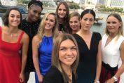 simona halep turneul campioanelor 2017 selfie