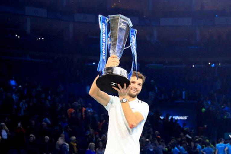 grigor dimitrov trofeu turneul campionilor
