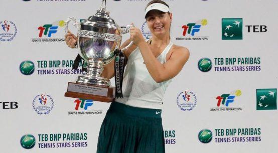 maria sharapova istanbul trofeu 1