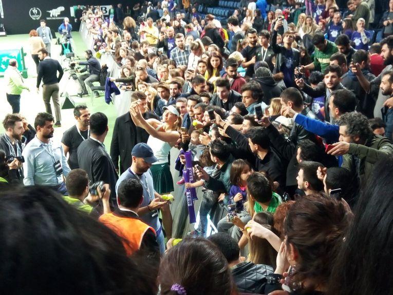 sharapova fani istanbul turcia