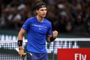 Rafael nadal bucurie paris tenis