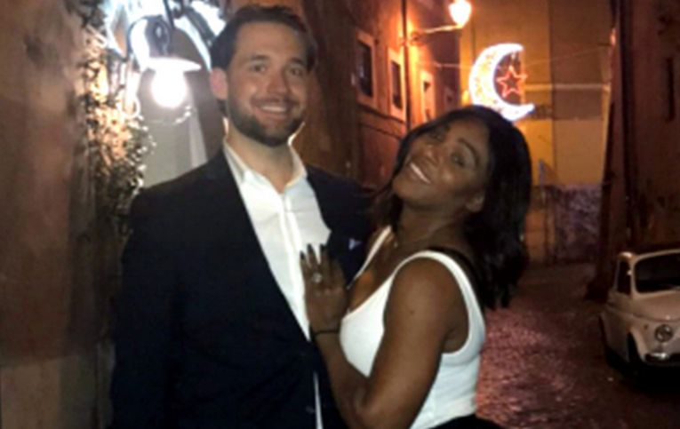 serena williams alexis ohanian tenis