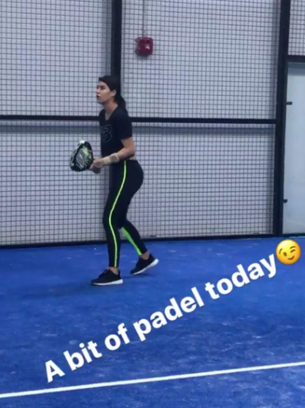 Sorana cirstea padel orteza tenis