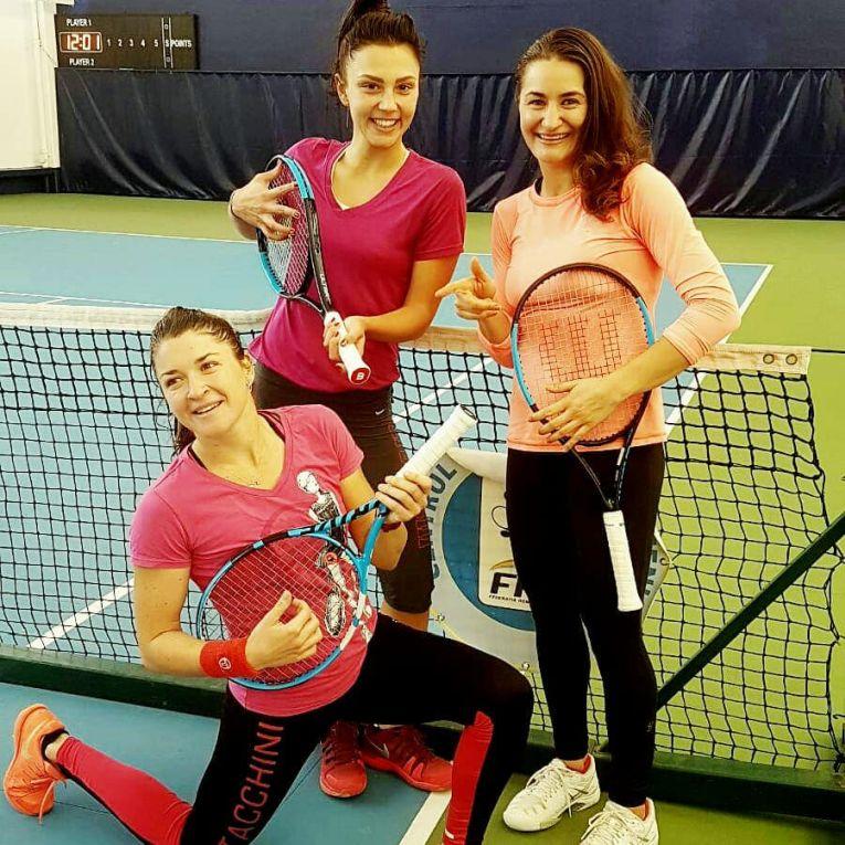 Alexandra Dulgheru, Jaqueline Cristian, Monica Niculescu,