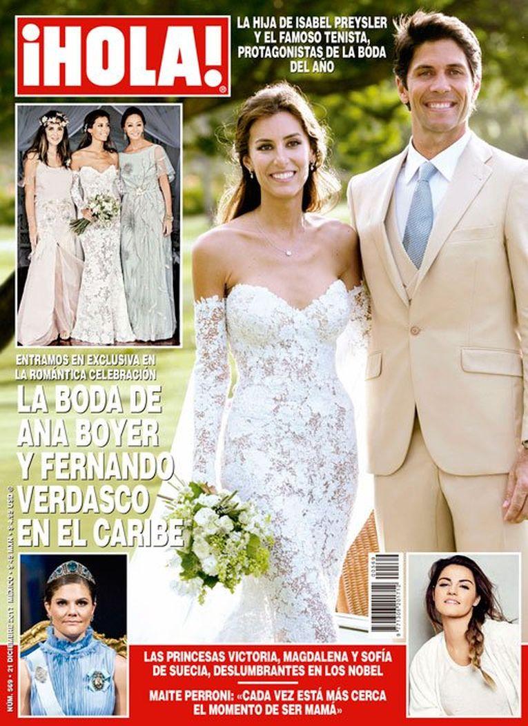 revista hola nunta verdasco ana boyer