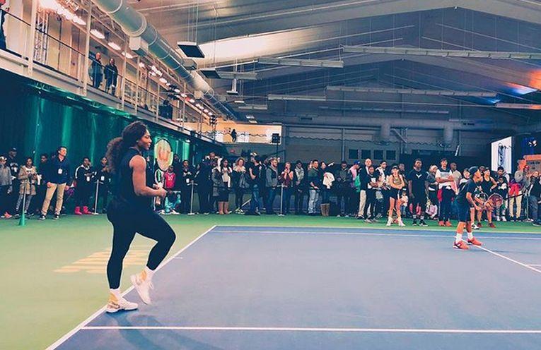 serena williams tenis actiune caritabilă