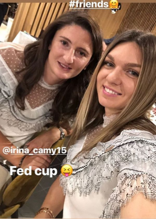 banchet fed cup romania canada