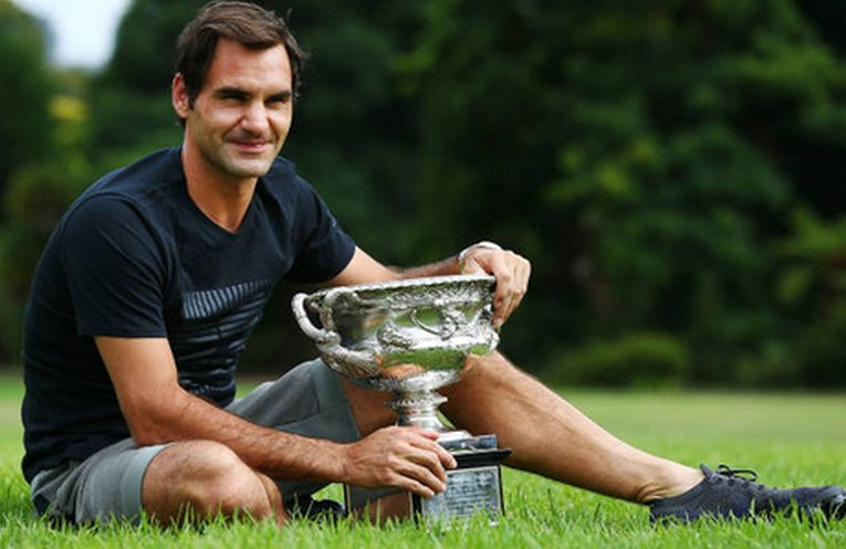 roger federer trofeu australian open