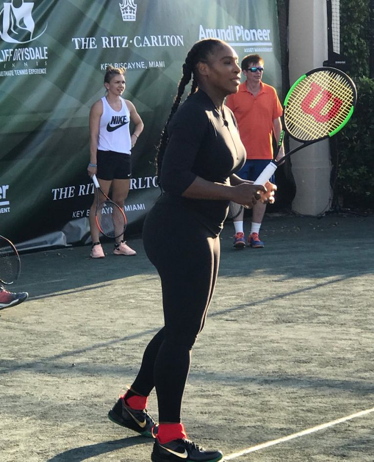 miami caritabil serena williams