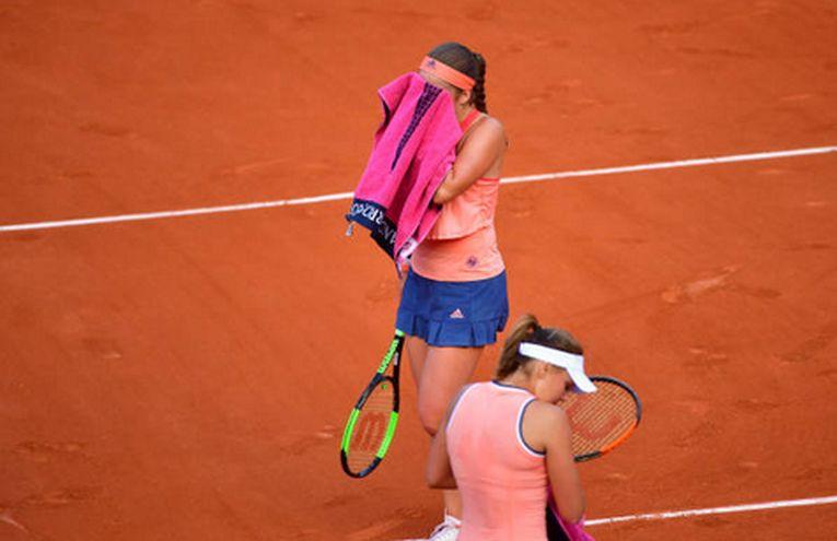 Jelena Ostapenko a fost eliminata in primul tur la Roland Garros 2018, desi era detinatoarea titlului
