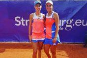 Mihaela Buzarnescu si Raluca Olaru au castigat trei meciuri in proba de dublu de la turneul WA de la Strasbourg 2018