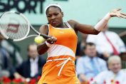 Serena Williams în echipamentul purtat la Roland Garros 2003