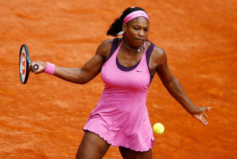 Serena Williams în echipamentul purtat la Roland Garros 2007