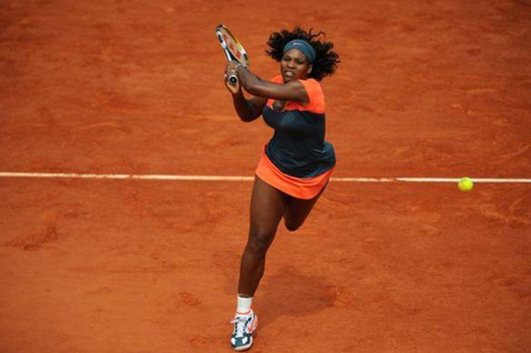 Serena Williams în echipamentul purtat la Roland Garros 2009