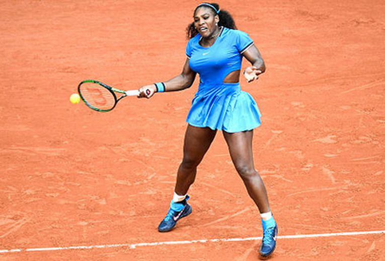 Serena Williams în echipamentul purtat la Roland Garros 2016