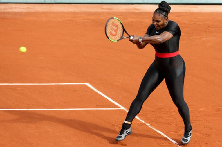 Serena Williams, echipament Roland Garros2018