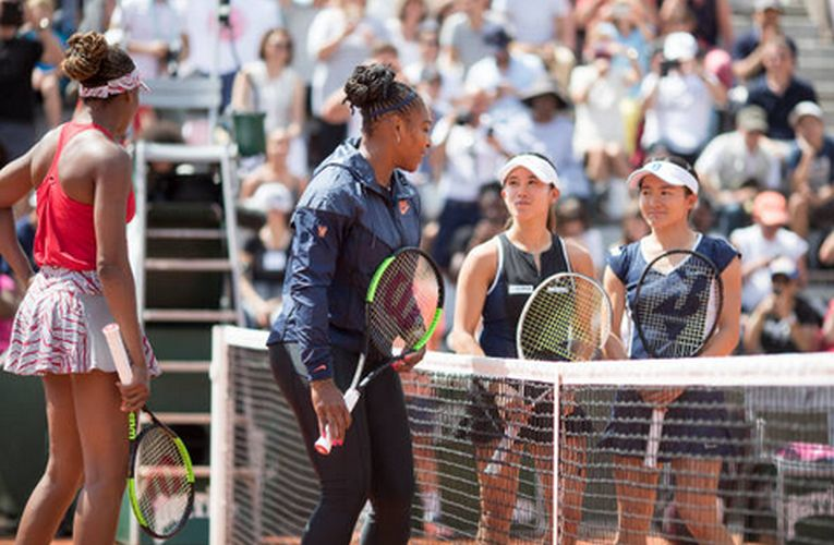 Serena Williams si Venus Williams, intr-o fotografie inedita la Roland Garros 2018