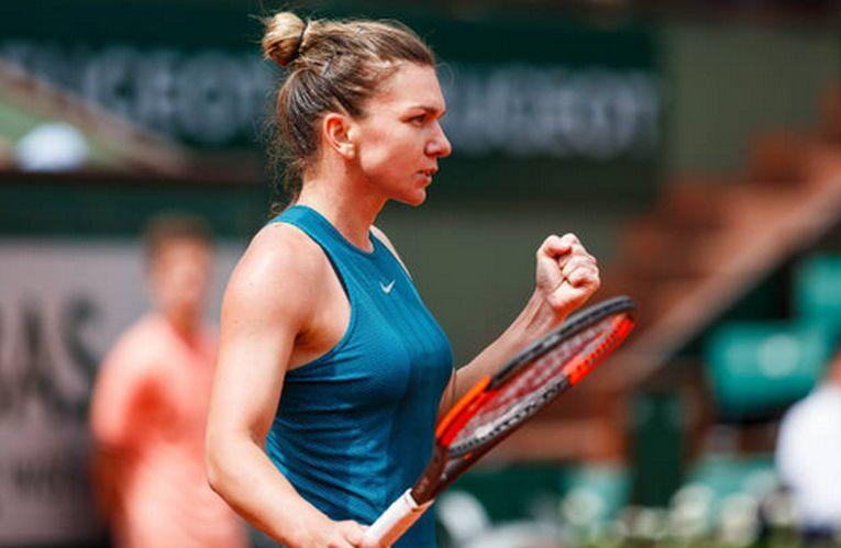 Simona Halep își exprimă bucuria după o nouă victorie la Roland Garros 2018