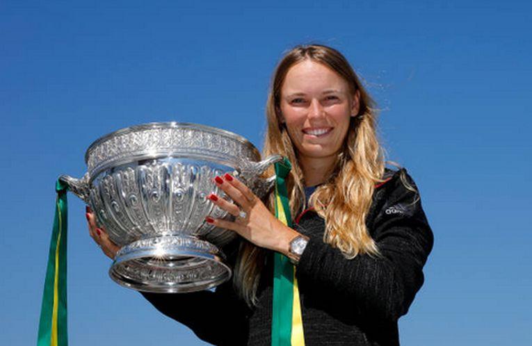 Caroline Wozniacki este noua campioana de la Eastbourne