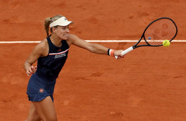 Angelique Kerber s-a calificat in sferturi la Roland Garros 2018