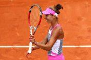 Mihaela Buzărnescu zâmbește din tot sufletul după fiecare meci câștigat la Roland Garros