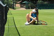 Simona Halep la primul antrenament de la Wimbledon 2018