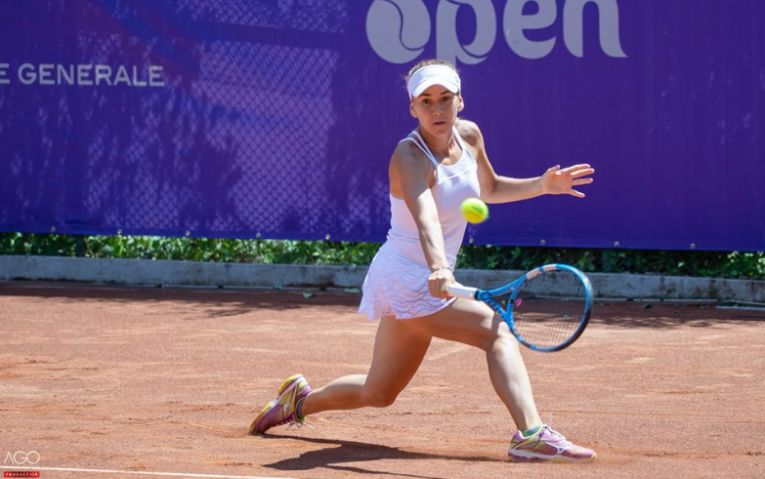 Irina Bara la BRD Bucharest Open 2018