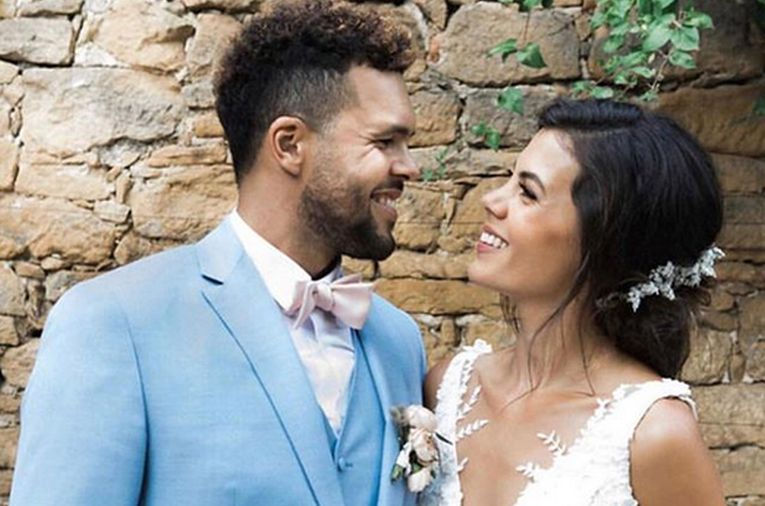 Jo Wilfried Tsonga s-a căsătorit