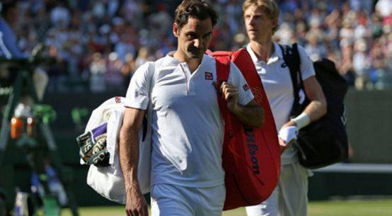 Roger Federer a fost eliminat de Kevin Anderson la Wimbledon 2018