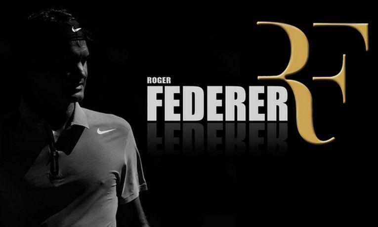 Roger Federer nu mai are initialele logo-ului RF, care au ramas la Nike