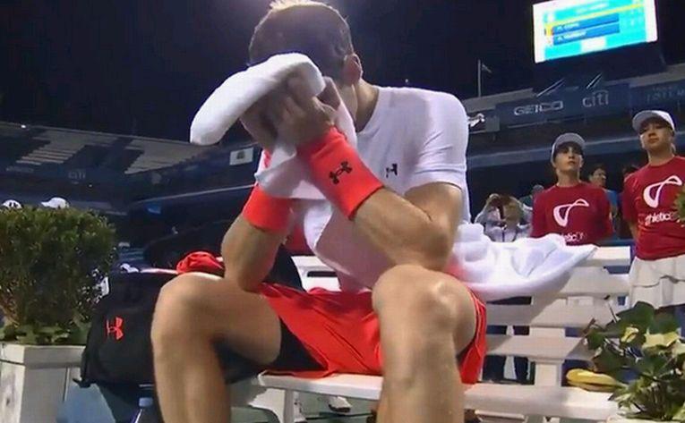 Andy Murray a plâns la finalul meciului cu Marius Copil de la Washington 2018