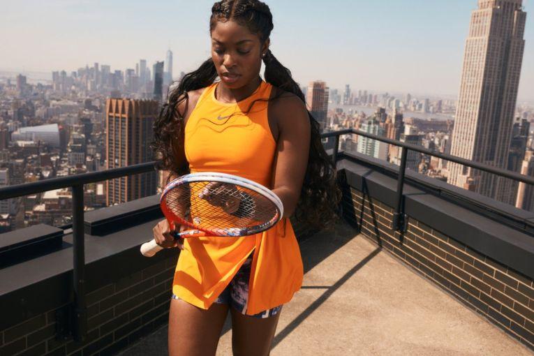 Sloane Stephens, sedinta foto Nike