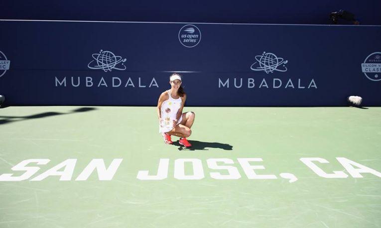 Mihaela Buzarnescu si primul trofeu WTA al carierei, San Jose 2018